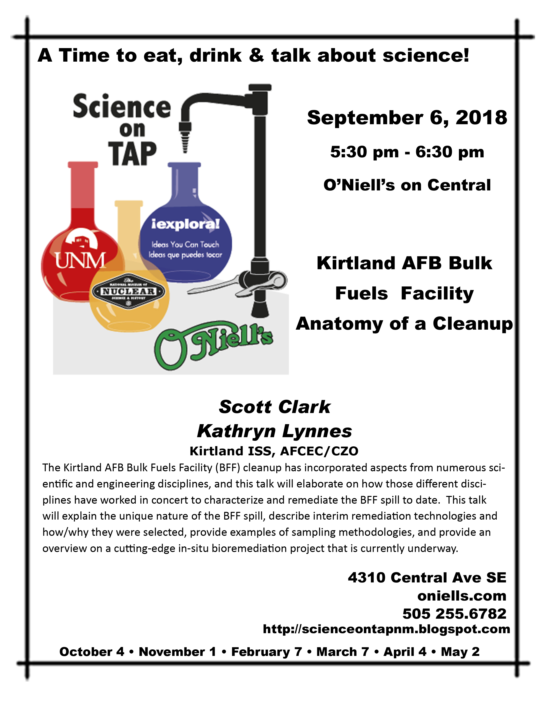 School of Engineering - Science on Tap • Kirtland AFB Bulk Fuels ...