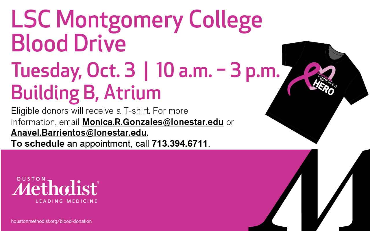 LSC-Montgomery - Blood Drive - LSC Montgomery and the