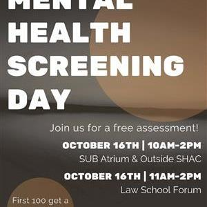 Image for: Mental Health Screening Day
