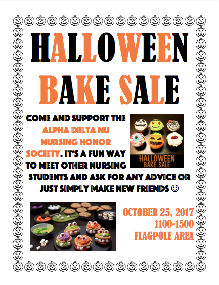 college of the canyons halloween bake sale