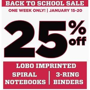 Image for: Back to School Sale