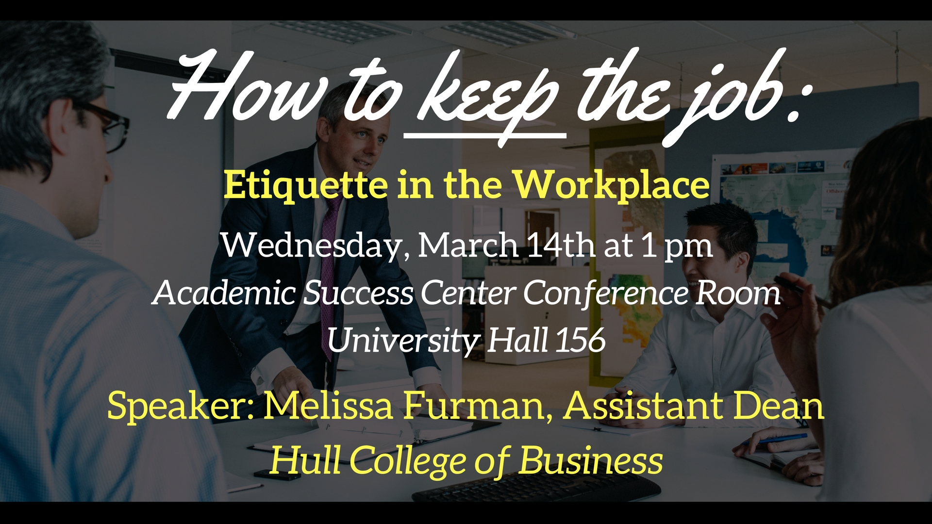 Event Calendar How to Keep the Job Etiquette in the Workplace