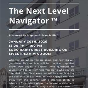 Image for: Next Level Navigator – EDA NM Rainforest University Center Seminar