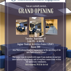Multicultural Center Grand Opening
