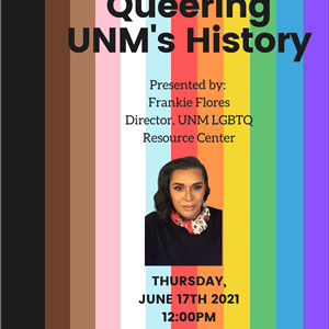 Image for: Queering UNM's History with Frankie Flores