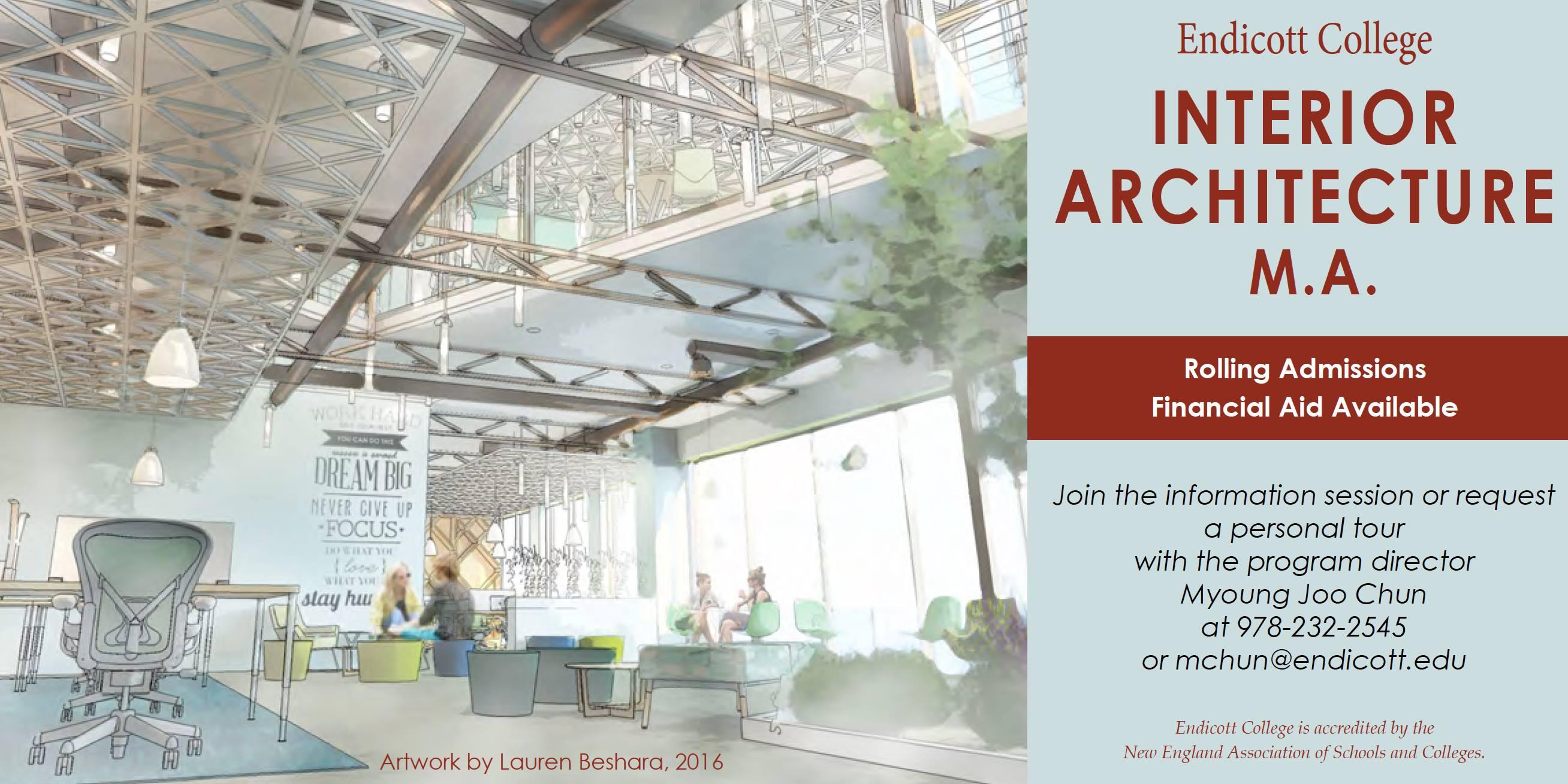 events calendar interior architecture open house