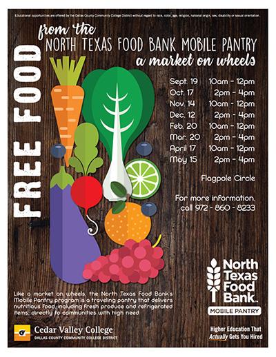 Cedar Valley College North Texas Food Bank Mobile Pantry