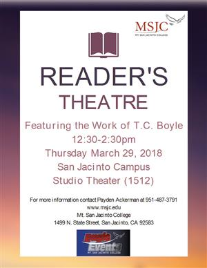 Readers' Theater March 29