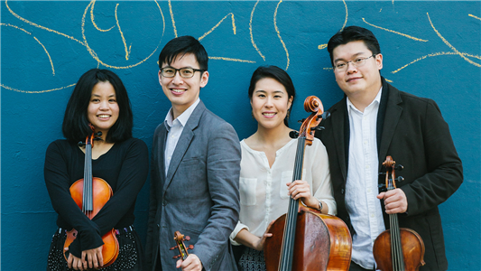 Formosa Quartet, photo by Sam Zauscher