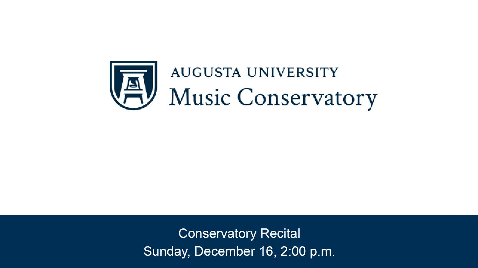Conservatory Program Student Recital