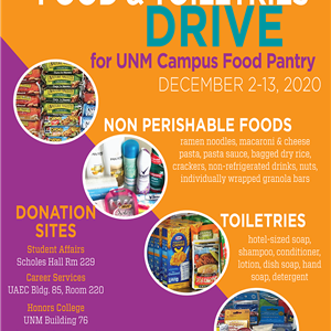Image for: Food and Toiletry Drive for the Campus Food Pantry