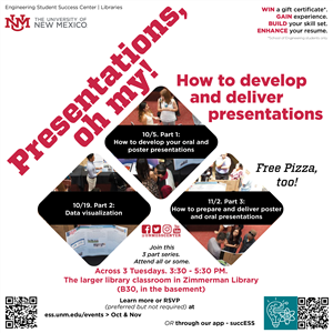 Image for: Presentations, Oh My! How to Develop and Deliver Presentations